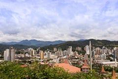Cidade de Brusque - Santa Catarina, Brasil Stock Photo