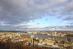 Cidade de Budapest, Hungria Imagem de Stock