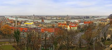 Cidade de Budapest, Hungria Fotografia de Stock