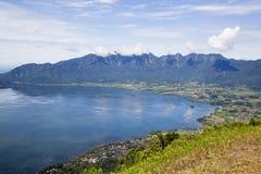 Cidade de Bukittinggi em Sumatra ocidental Foto de Stock Royalty Free