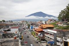 Cidade de Bukittinggi em Sumatra ocidental Imagem de Stock Royalty Free