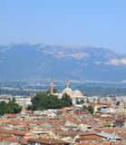 Cidade de Bursa Fotos de Stock Royalty Free