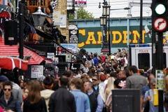 Cidade de Camden, mercado, Londres fotos de stock