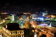 Cidade de Cannes, France Fotografia de Stock