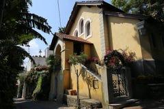 Cidade de Capri, ilha de Capri, Itália Imagens de Stock Royalty Free