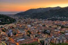 Cidade de Carrara Fotografia de Stock Royalty Free