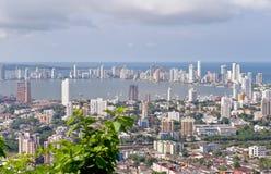 Cidade de Cartagena Fotos de Stock Royalty Free