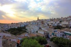 Cidade de Cazorla (Jae'n, Espanha) Foto de Stock