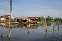 Cidade de Chau Doc imagens de stock