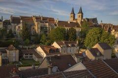 Cidade de Chaumont, França imagem de stock royalty free