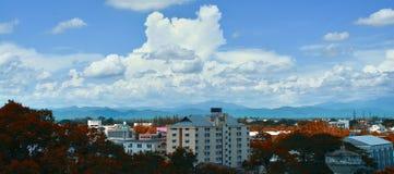 A cidade de Chiangmai, Tailândia do norte Imagens de Stock
