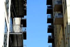 Cidade de Chicago: Construções modernas Imagens de Stock Royalty Free
