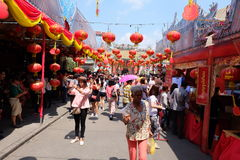 Cidade de China Fotografia de Stock