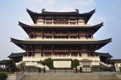 Cidade de China Changsha, edifício chinês fotografia de stock