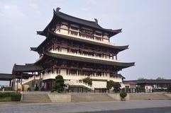 Cidade de China Changsha, edifício chinês foto de stock royalty free