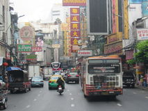 Cidade de China em Banguecoque, Tailândia Fotografia de Stock Royalty Free