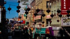 Cidade de China em San Francisco, U S A Fotos de Stock Royalty Free
