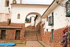 Cidade de Chinchero Imagens de Stock Royalty Free