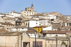 Cidade de Cirauqui Zirauki, Navarra, Espanha Imagem de Stock