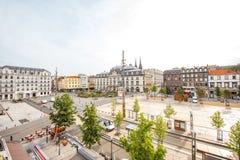 Cidade de Clermont-Ferrand em França Foto de Stock