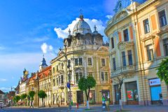 Cidade de Cluj-Napoca Fotos de Stock Royalty Free