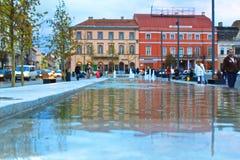 Cidade de Cluj-Napoca Imagem de Stock
