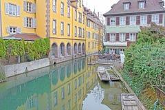 Cidade de Colmar Foto de Stock Royalty Free