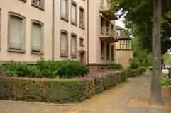 A cidade de Colmar em um dia nebuloso Fotos de Stock Royalty Free