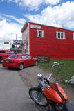 Cidade de Cooke, Montana Foto de Stock