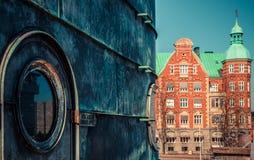 Cidade de Copenhaga imagem de stock royalty free