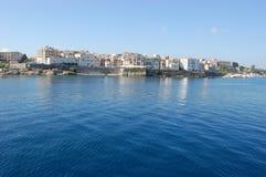 Cidade de Corfu Imagem de Stock