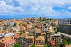Cidade de Corfu Imagens de Stock Royalty Free