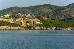 Cidade de Corfu Fotografia de Stock Royalty Free