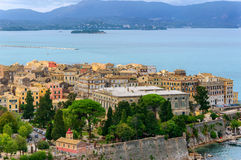 Cidade de Corfu Foto de Stock