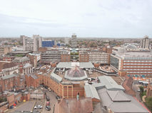 Cidade de Coventry Imagem de Stock