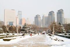 Cidade de Dalian Foto de Stock Royalty Free