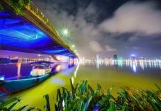 Cidade de Danang em Vietname Fotografia de Stock