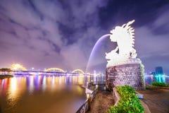 Cidade de Danang em Vietname Fotos de Stock Royalty Free