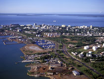 Cidade de Darwin Fotografia de Stock Royalty Free