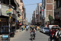 A cidade de Deli Imagens de Stock
