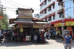 A cidade de Deli Fotos de Stock Royalty Free