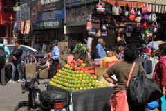 A cidade de Deli Fotografia de Stock