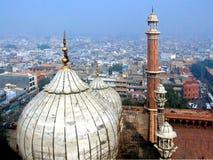 Cidade de Deli fotos de stock royalty free