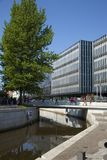 Cidade de Dinamarca, Arhus imagens de stock