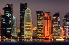 Cidade de Doha, Qatar Fotografia de Stock