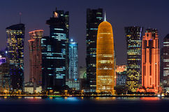 Cidade de Doha, Qatar Foto de Stock