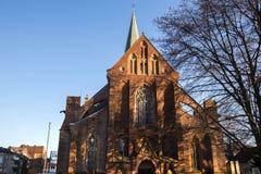 Cidade de Dortmund Alemanha no inverno imagens de stock royalty free