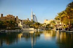 Cidade de Dubai, UEA Fotografia de Stock