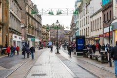 Cidade de Dundee do centro de compra fotos de stock