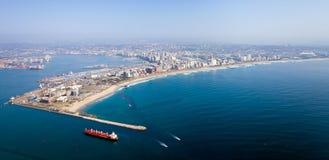 Cidade de Durban foto de stock royalty free